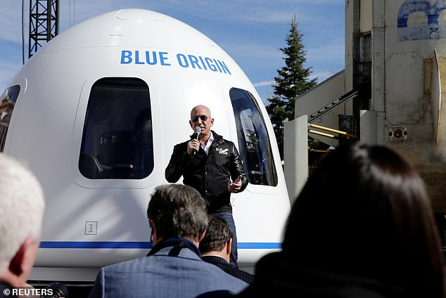 Jeff Bezos to fly with his brother to space next month on his own space craft