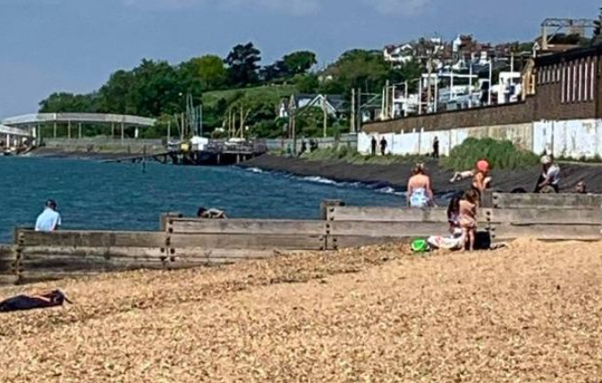 Woman pronounced dead at beach in Essex after beachgoers saw her struggling and called police