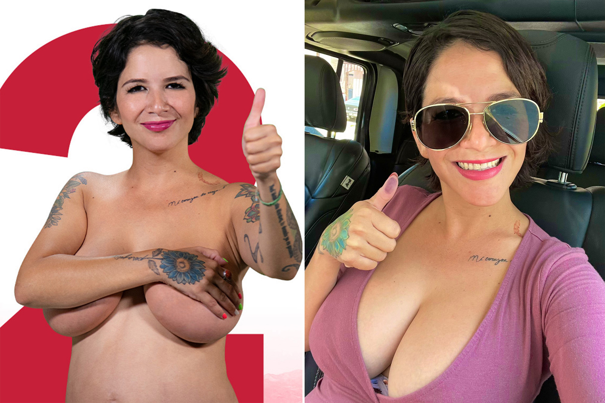 ?Mexican model-turned-politician offers free boob jobs for women voters if she wins her election