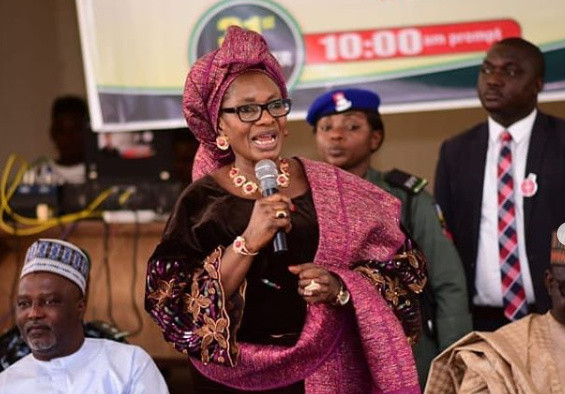 Minister of Women Affairs, Pauline Tallen, accuses Nigerian entertainers of promoting abuse of women?s bodies