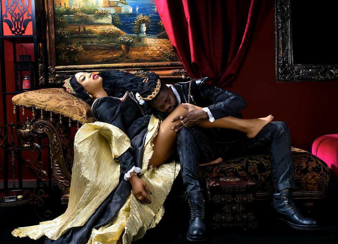 Check out official pre-wedding photos of fashion entrepreneur, Toyin Lawani, and her fianc?, Segun Wealth