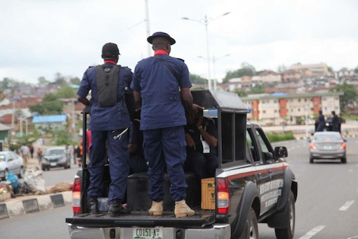 NSCDC official allegedly shoots bus driver in Rivers