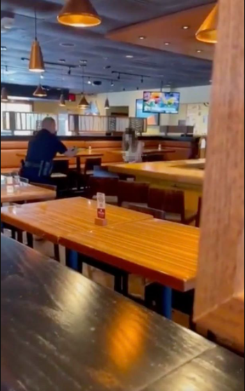 Naked woman trashing restaurant is tasered in boobs by police