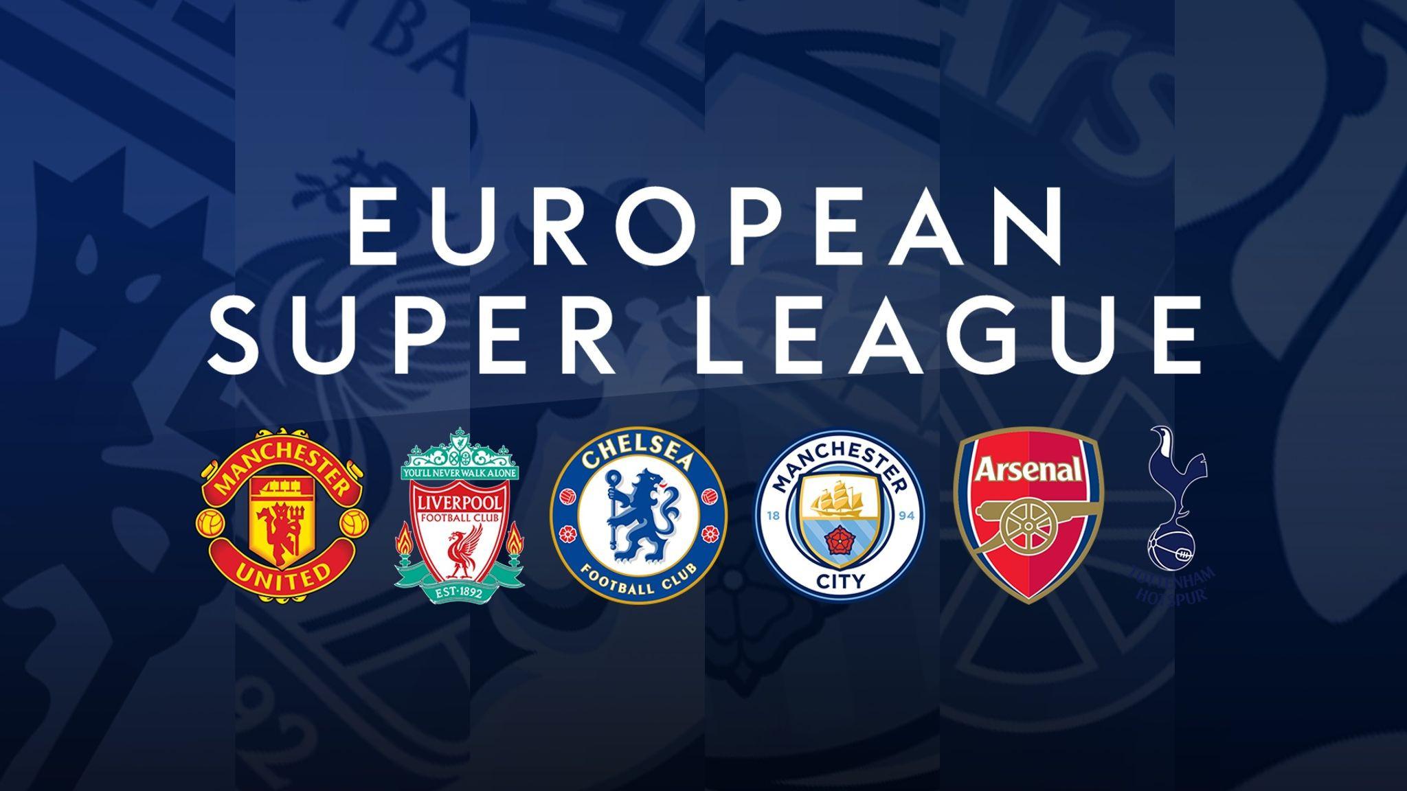 All six Premier League clubs who signed up to failed European Super League