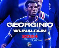 Paris Saint-Germain confirm signing of Georginio Wijnaldum
