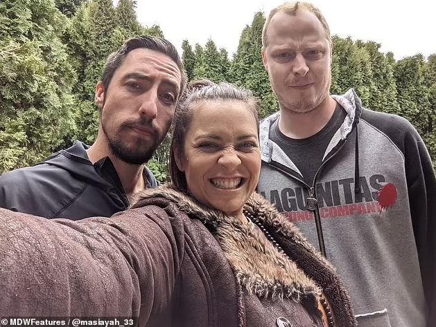 Mother-of-two reveals how she saved her struggling marriage by forming a polyamorous relationship with her husband