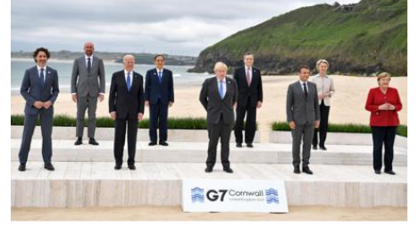 First photos from the 2021 G7 summit as Joe Biden meets with other world leaders for the first time since taking office