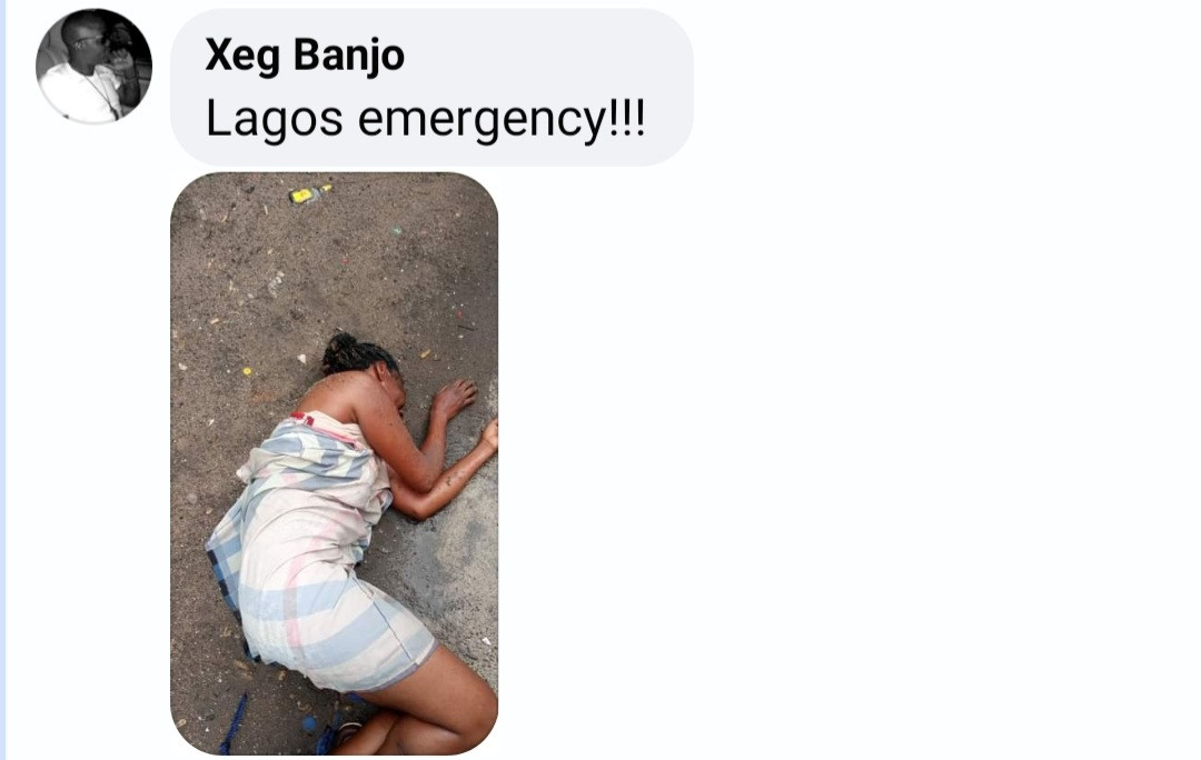 Concerns for unconscious woman seen under the bridge in Jibowu