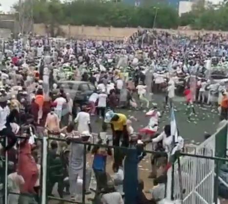 Violence erupts at APC mega rally in Kano (video)