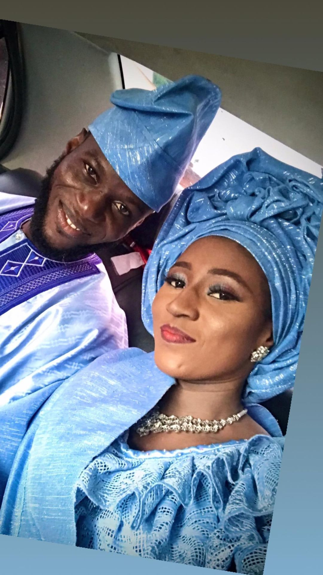 Nigerian man marries lady 7 years after he begged her to accept his Facebook friend request
