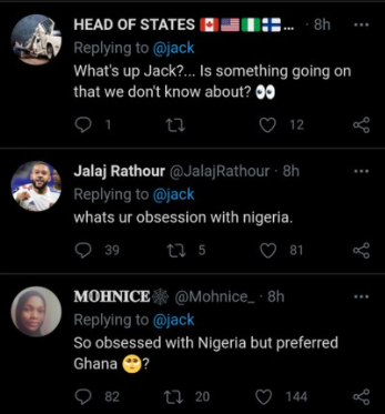 Twitter CEO, Jack Dorsey raises brows as he tweets the Nigerian flag again