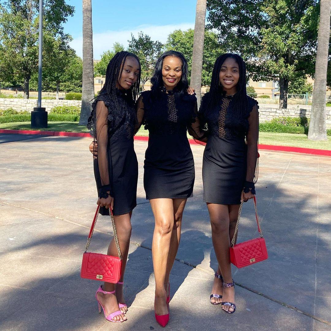Actress Georgina Onuoha shares lovely photos of herself with her daughters