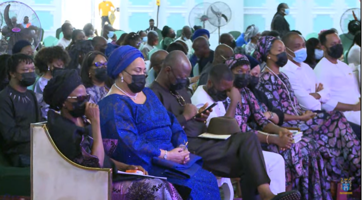 Photos from the one year memorial service of ex-beauty queen and event planner, Ibidun Ajayi-Ighodalo