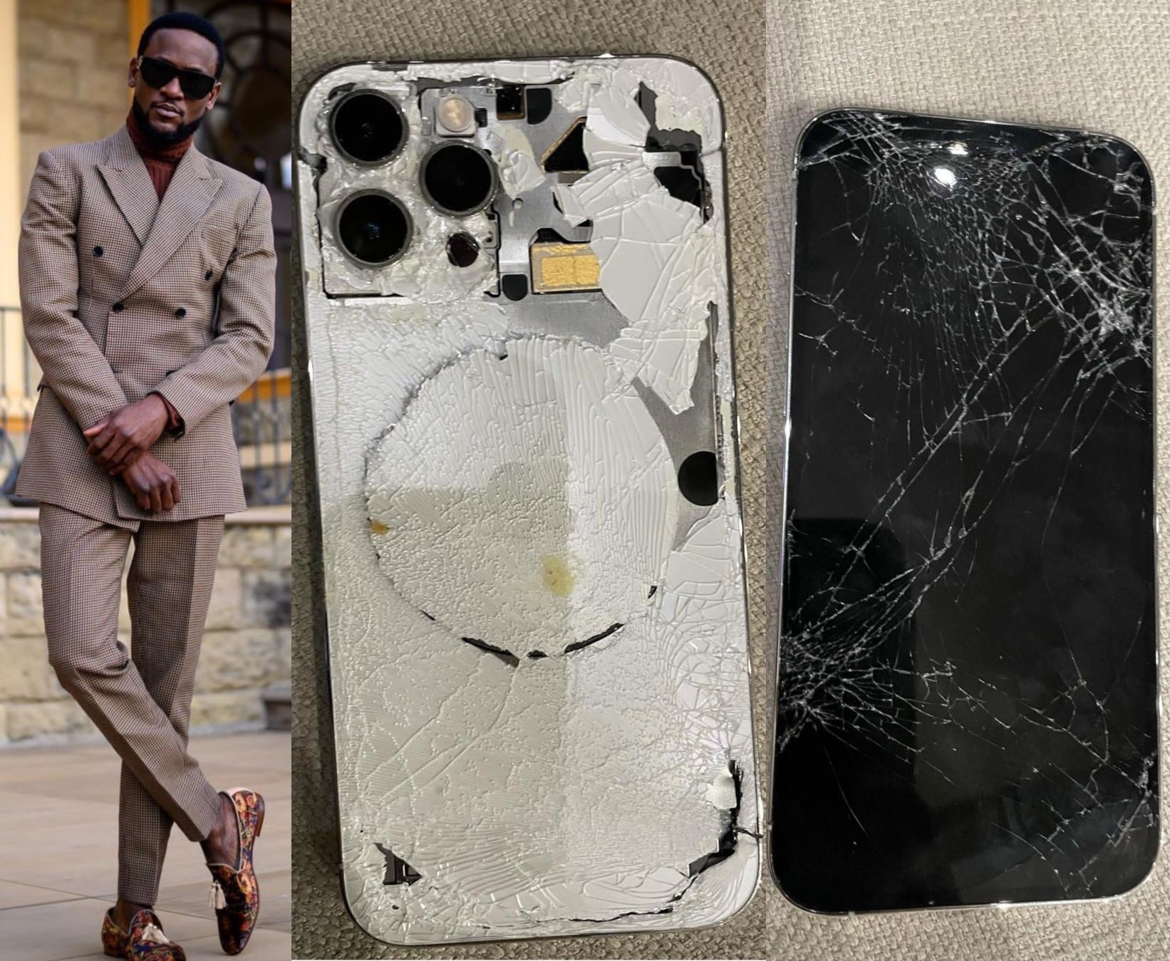 BBNaija star, Omashola recounts how he saved himself during robbery incident by gun-wielding men