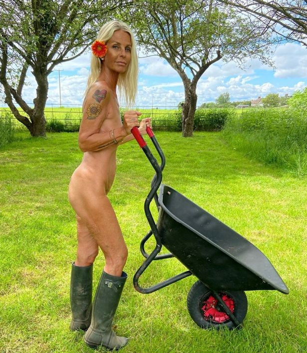 Swedish-British presenter and model Ulrika Jonsson, 53, bares all as she strips for good cause