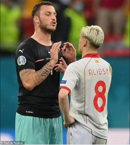 Update: Marko Arnautovic banned for one match for insulting another player in Austria
