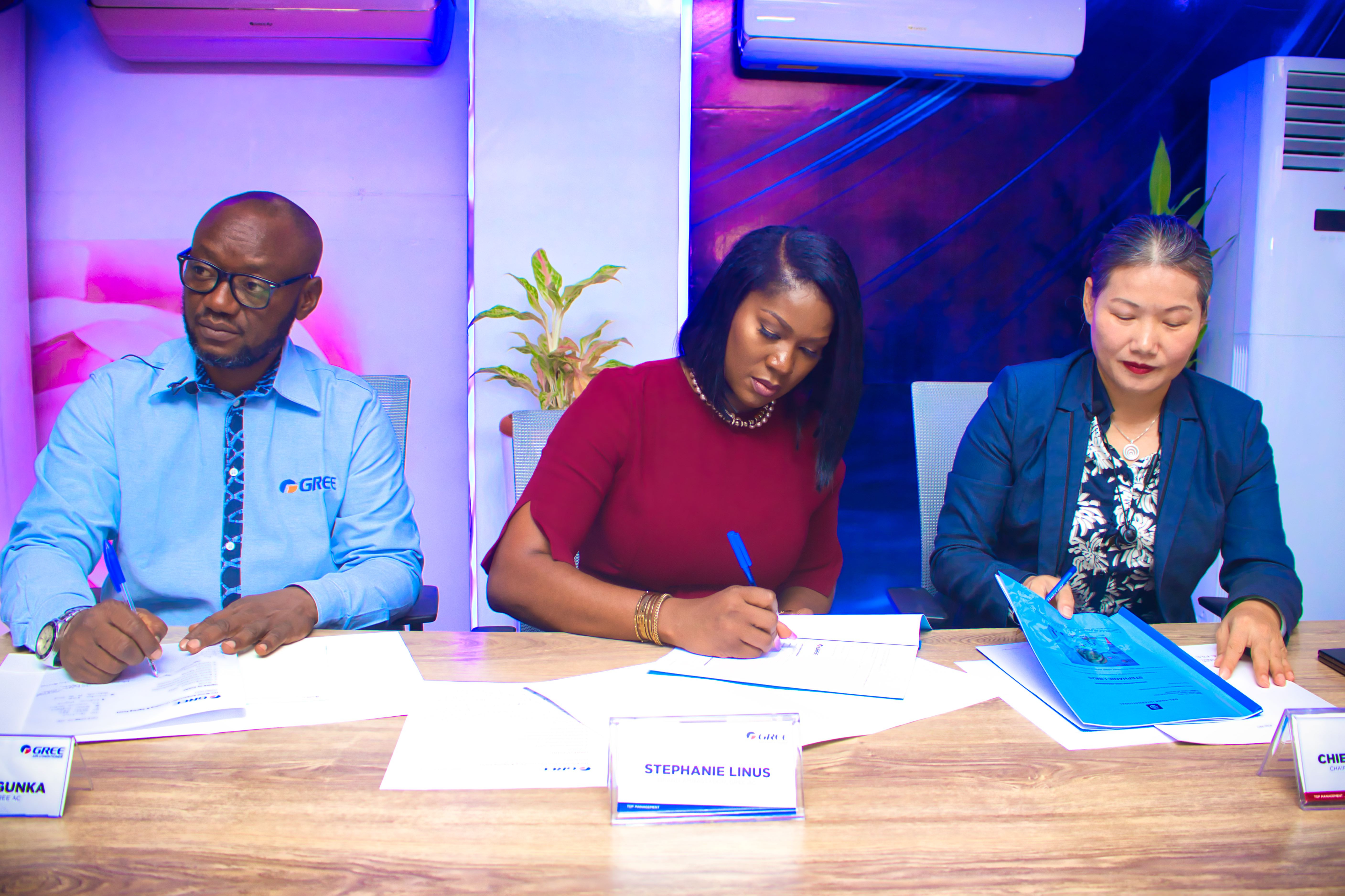 Stephanie Linus unveiled as Gree AC Ambassador