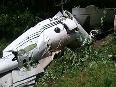 3 killed in plane crash in eastern DR Congo