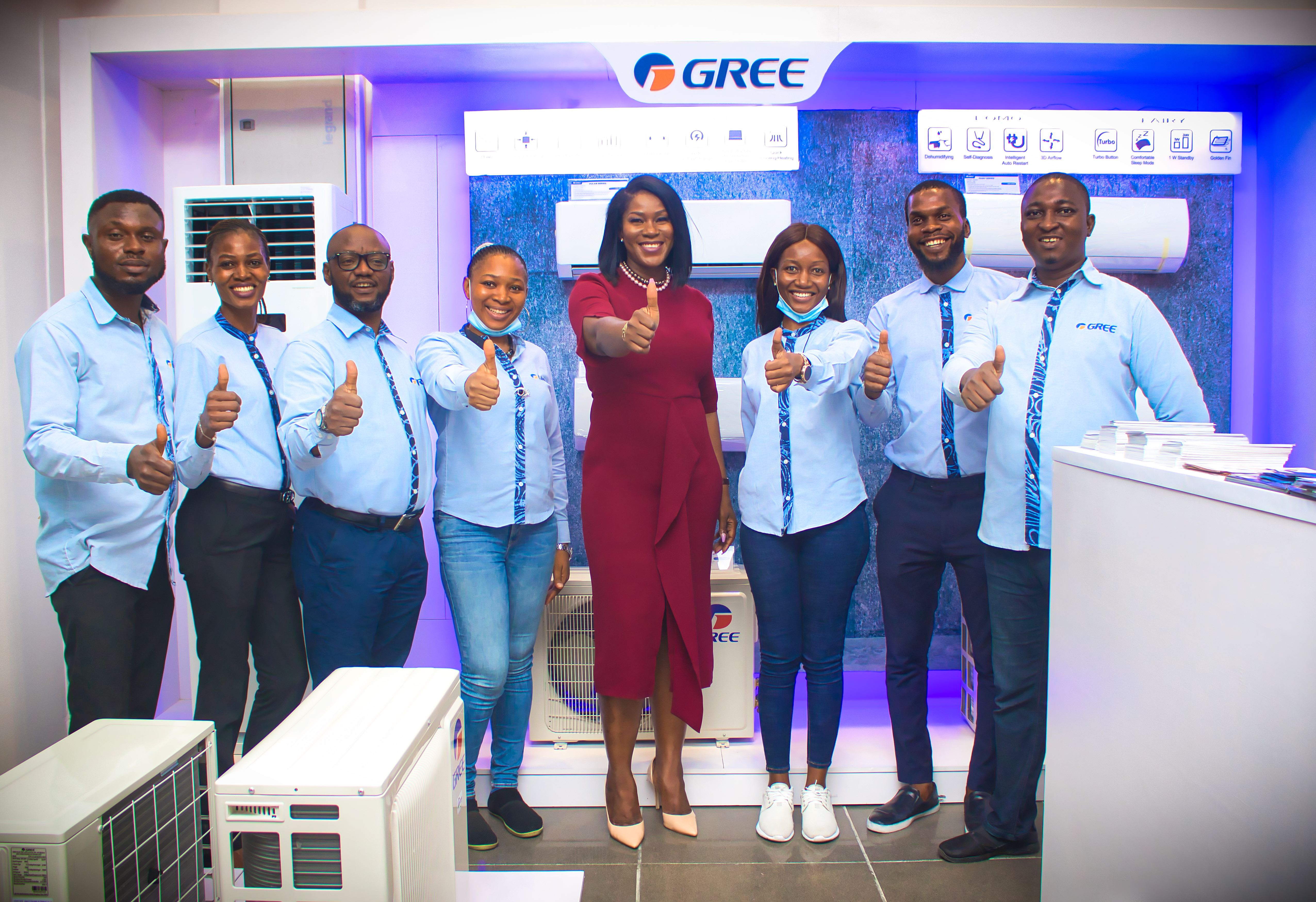 Gree AC & Lonton Ng Unveil their First Brandshop at Maryland Mall