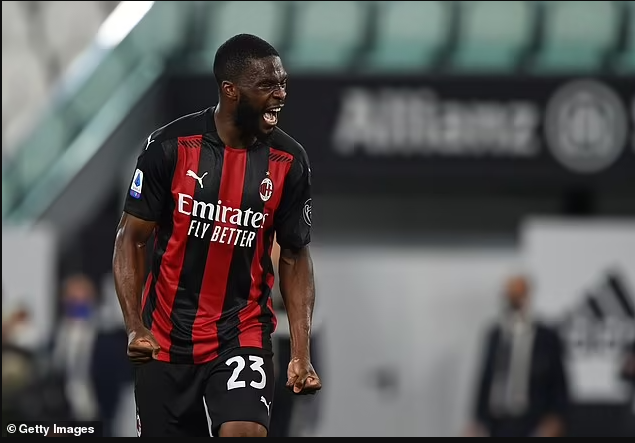 Fikayo Tomori to join AC Milan in ?25m permanent transfer after loan spell