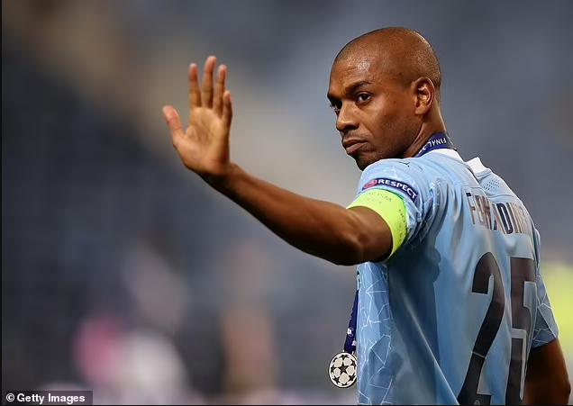 Manchester City captain, Fernandinho agrees on new one-year deal with Brazilian midfielder set for his 10th season with the club