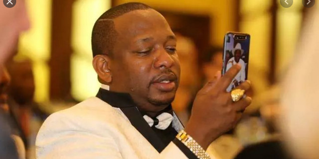Former Kenyan Governor, Mike Sonko deletes nude video of Presidential candidate Mukihsa Kituyi he shared after backlash
