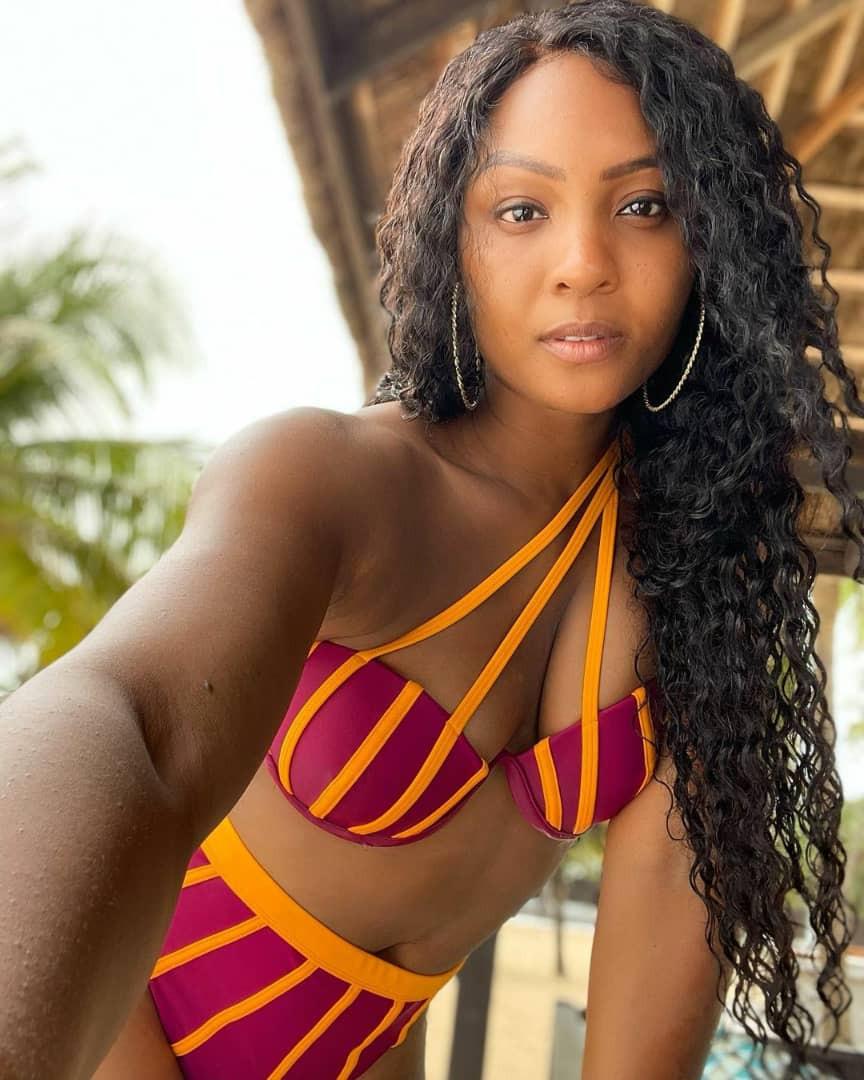 Actress Osas Ighodaro tensions social media with her hot bikini photos