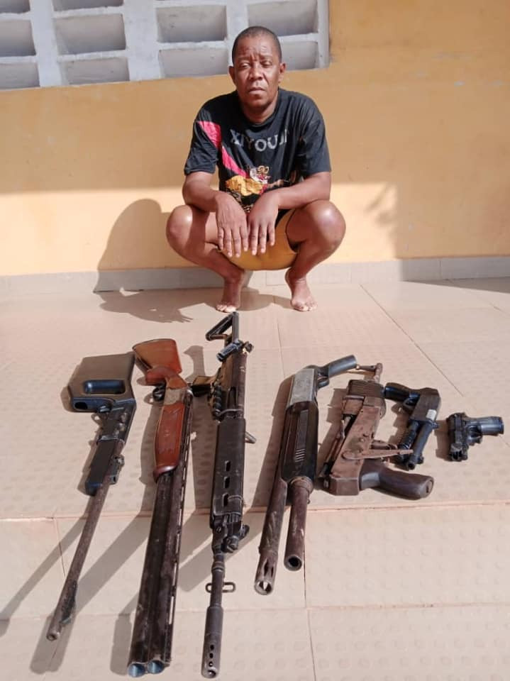 Police arrest Nollywood producer over illegal possession of arms in Delta