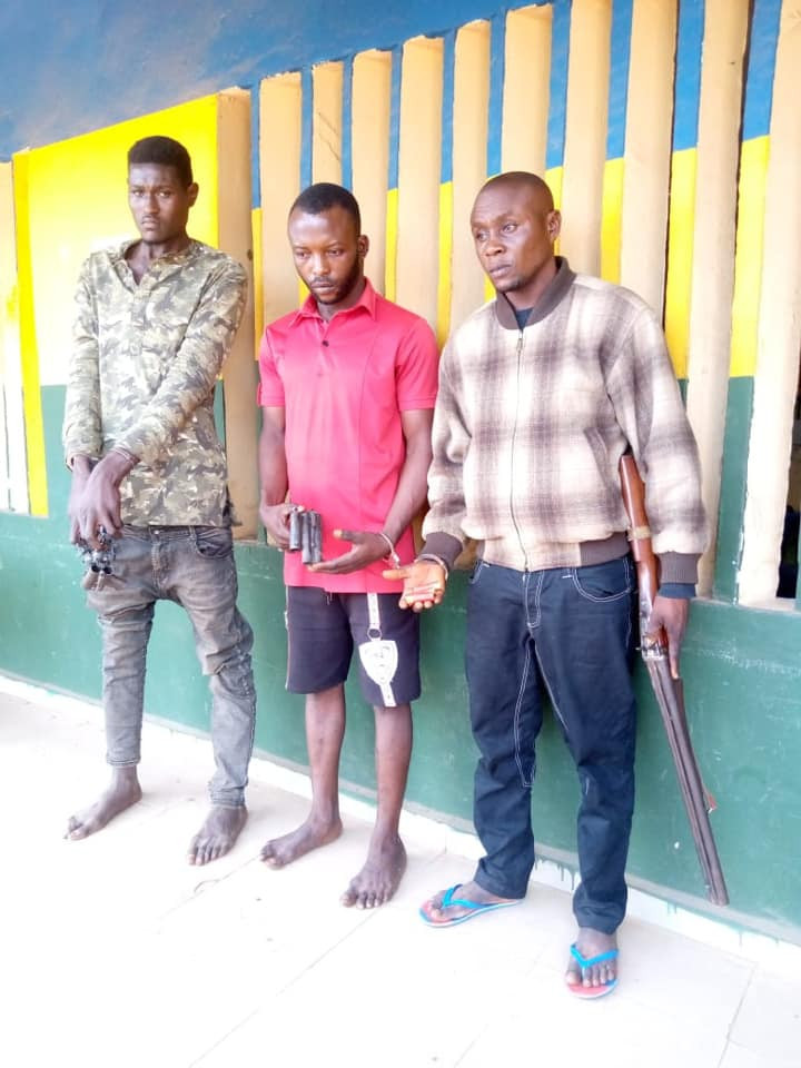 Three suspected cultists, armed robbers arrested in Delta
