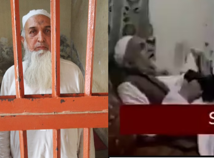 Muslim cleric arrested after he was caught on video