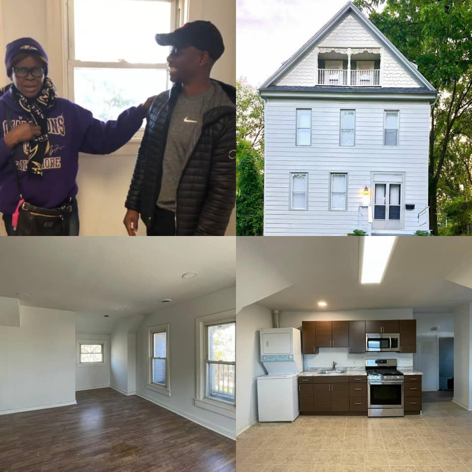 Nigerian comedian, Foxy P, gifts his parents a house in the US (photos/Video)