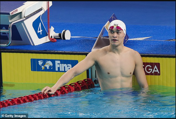 Olympic swimming champion, Sun Yang banned for four years for breaking anti-doping rule