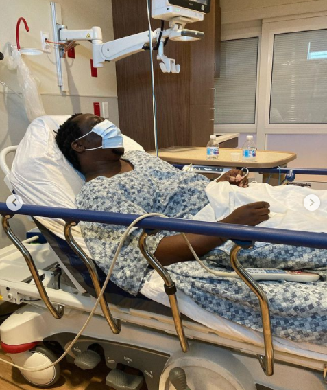 Singer YQ hospitalized in US