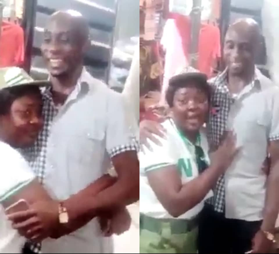 Youth Corper salutes her elder brother who dropped out from school 11 years ago to become a trader so he could see his siblings through school (photos)