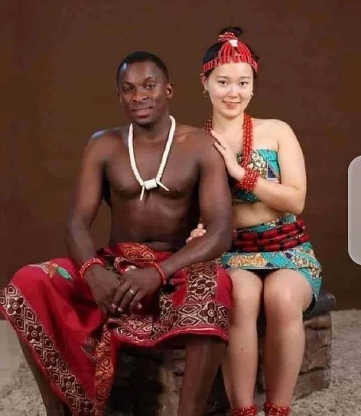 Lovely pre-wedding photos of a Nigerian man and his Korean bride