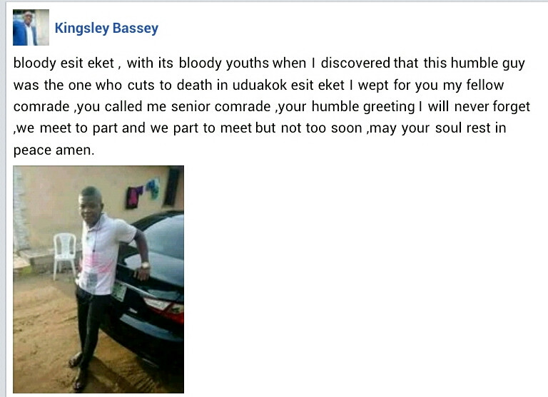 Three reportedly die as rival cult groups clash over a girl in Akwa Ibom