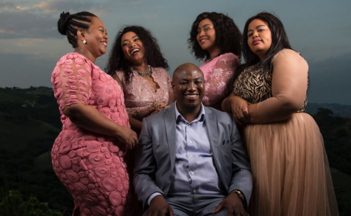 Polygamist with 10 children from his four wives says he