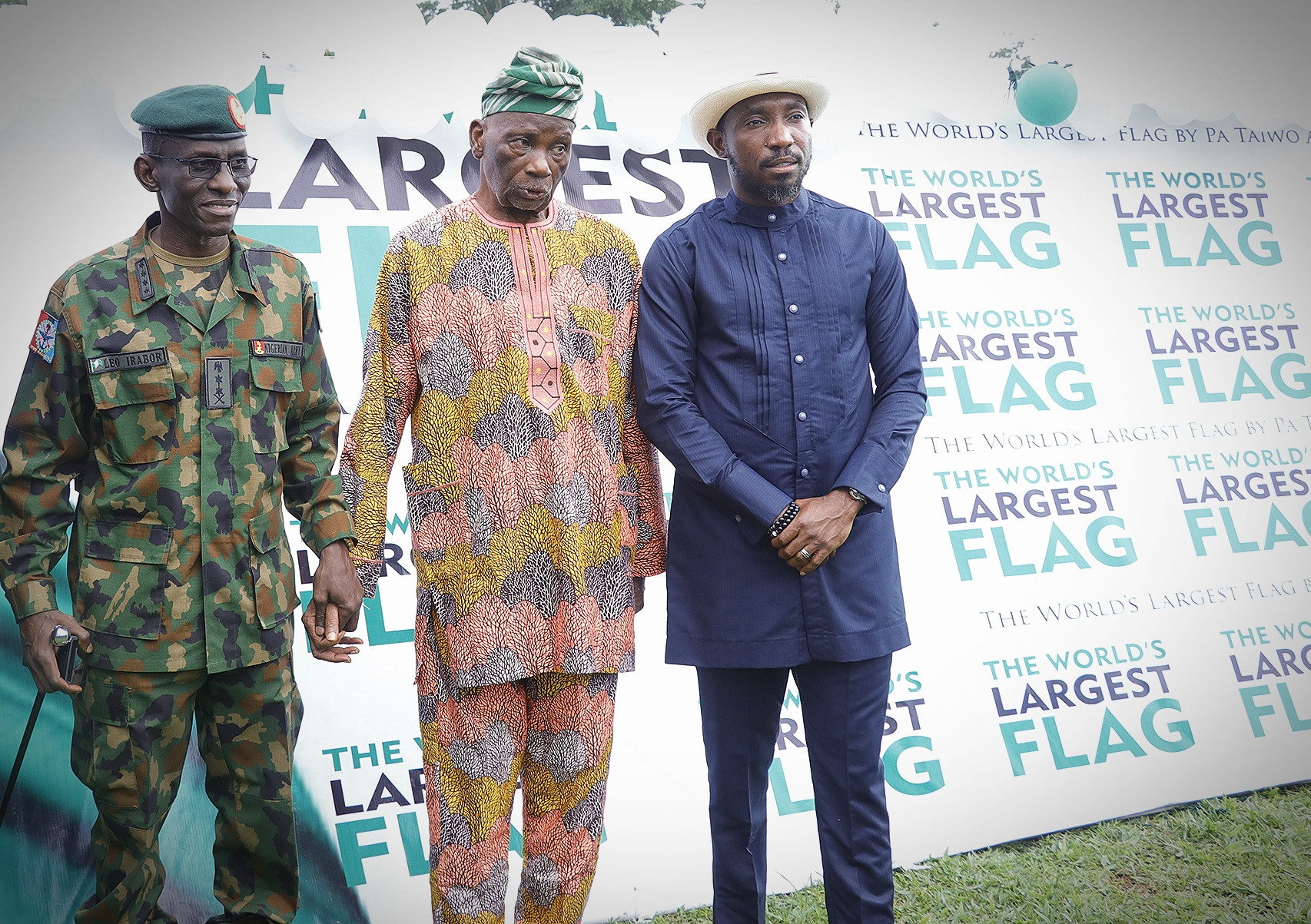 At the event were members of Pa. Akinkunmi's family, the Chief of Defence Staff Gen. Lucky Irabor, Timi Dakolo and media representatives