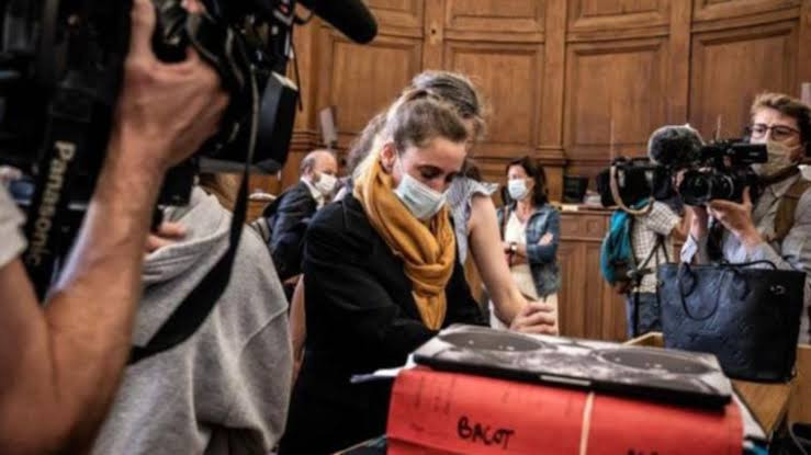 Frenchwoman who killed abusive husband reportedly faints in disbelief in court after hearing she could walk free
