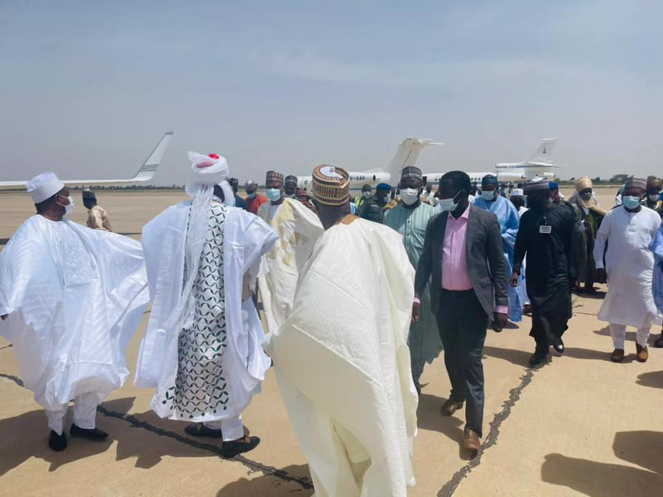 Update: Photos of State Governors, others at Emir of Kano