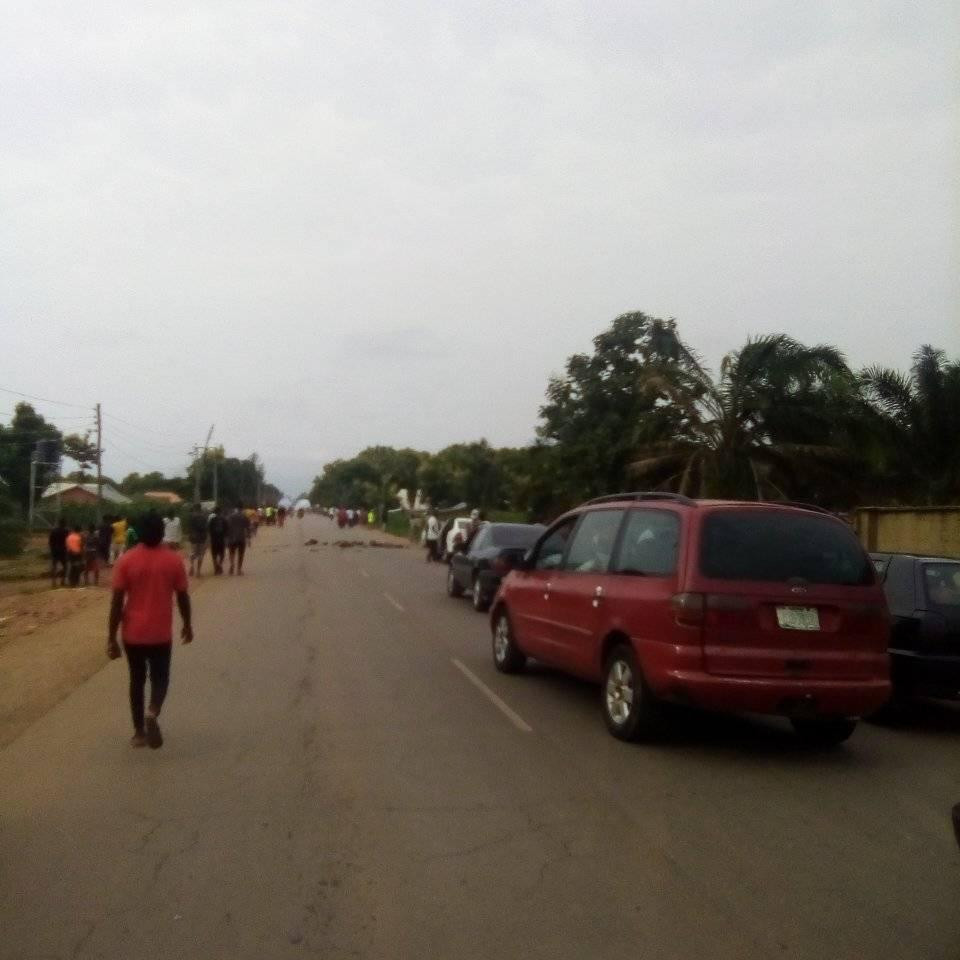 Security operatives reportedly open fire on students protesting tuition hike in Kaduna