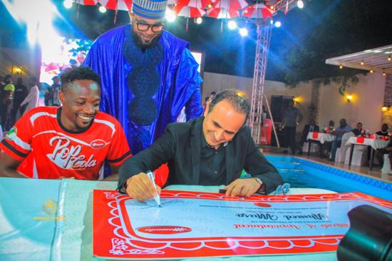 Ahmed Musa Unveiled as Pop Cola Ambassador