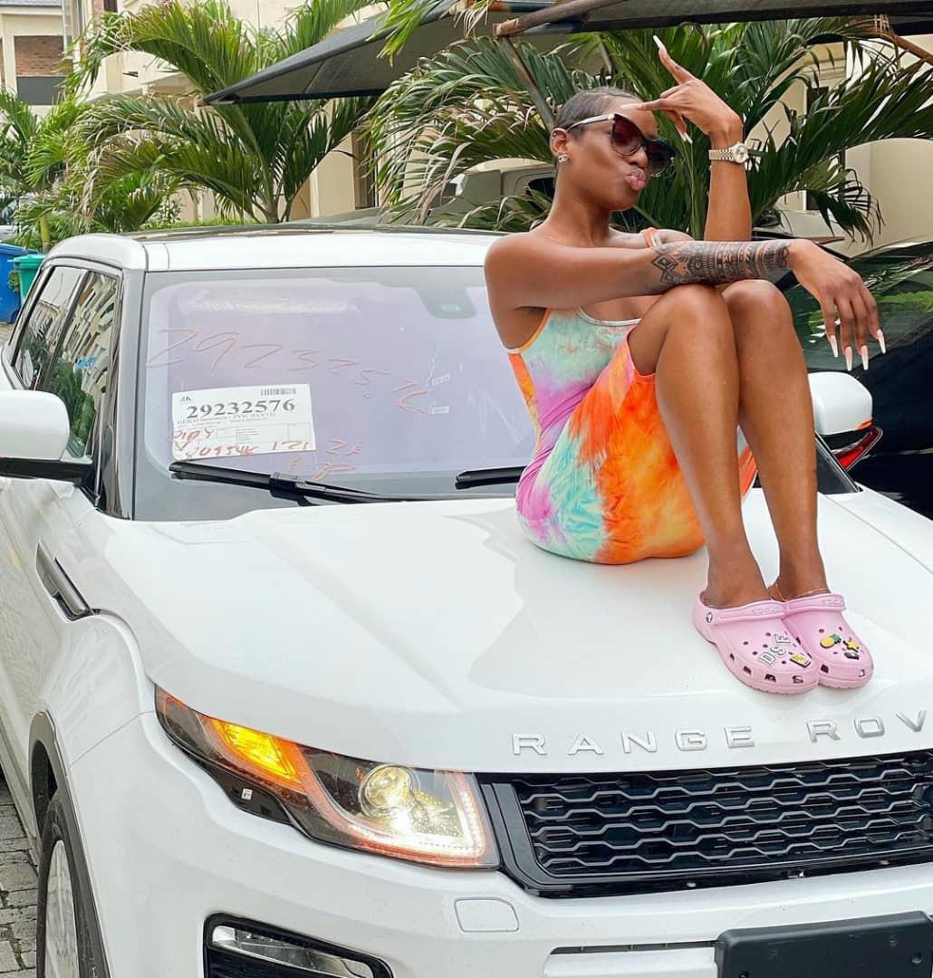 Actress Dorcas Fapson acquires Range Rover