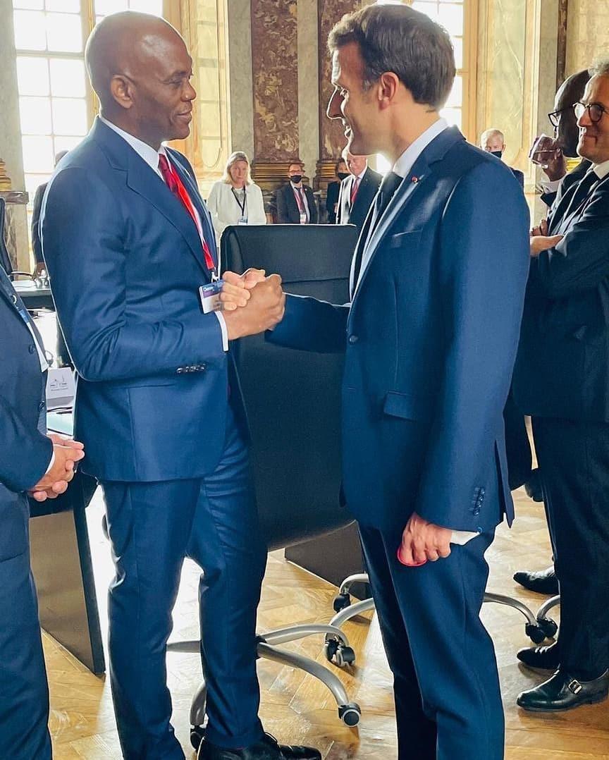 Billionaire businessmen Adenuga,  Aliko, Elumelu, Rabiu attend business summit in France (photos)