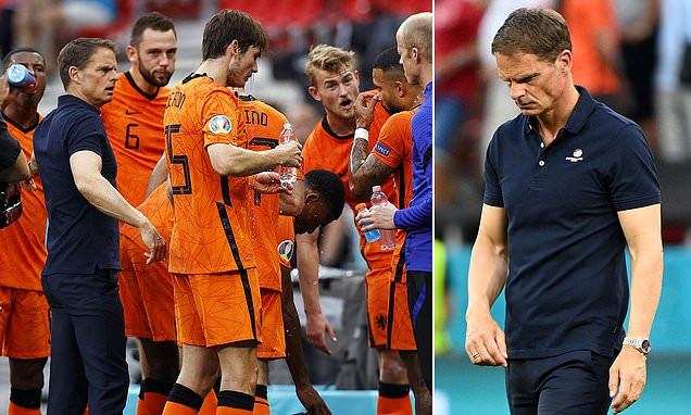 ?It is not healthy for me? ? Frank de Boer leaves role as Holland manager with immediate effect after EURO exit