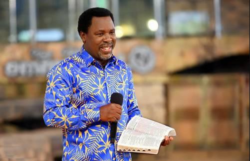 SCOAN announces July 9 as Pastor TB Joshua