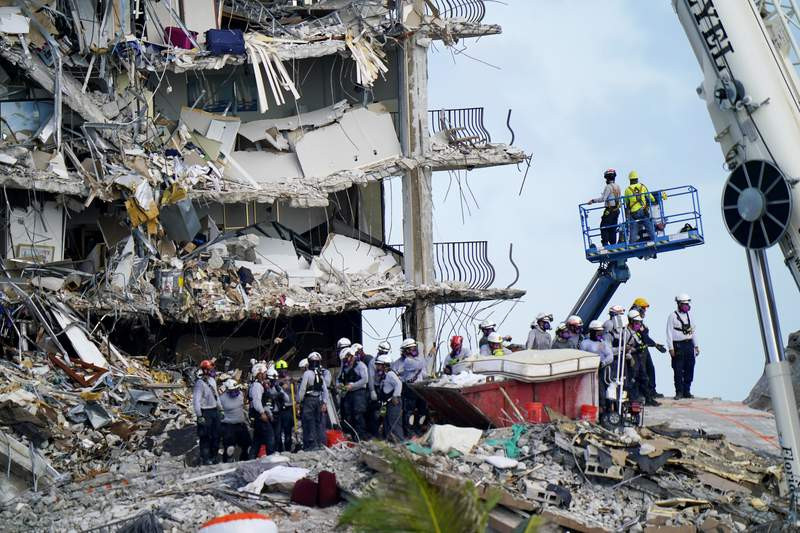 Lawsuits filed following building collapse in Maimi as death toll rises to 12 with 149 people still unaccounted for?