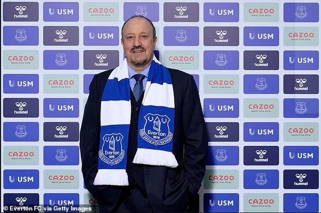 Rafa Benitez signs historic deal to become Everton