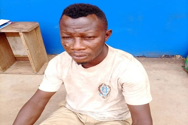 """Update: I hit her with my belt and she collapsed"""" - Man who beat his wife to death over N1500 and TV remote control in Edo claims she insulted him"""