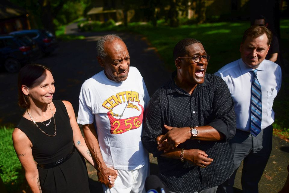 Update: Bill Cosby released from prison after court overturns his conviction (video)